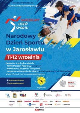 Narodowy Dzień Sportu w Jarosławiu 11-12.09.2021